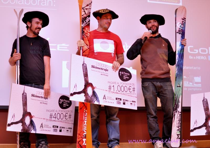 Ganadores Skimetraje 2013