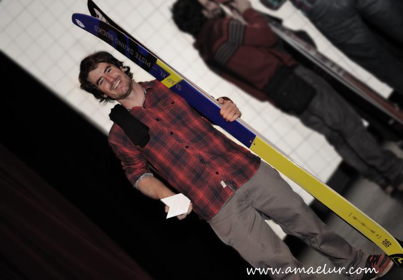 "Ibai Saenz, ""Ibai Saenz winter"" Premio a los mejores trucos freestyle de snowboard"