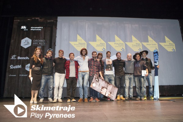 Los triunfadores de Skimetraje15, ¡Felicidades!