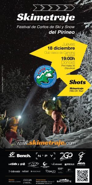 Skimetraje estuvo en Donostia