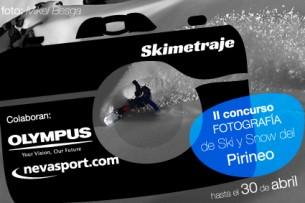 II Certamen de fotografía de esquí y snow del Pirineo