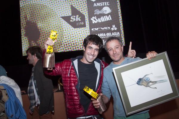 Luis Arrieta, el gran ganador de esta edición junto a Koldo Pastor
